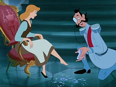 Disney's Cinderella: the shoe fits!